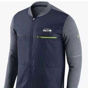 Nike Shield Seattle Seahawks Zip Jacket Hybrid